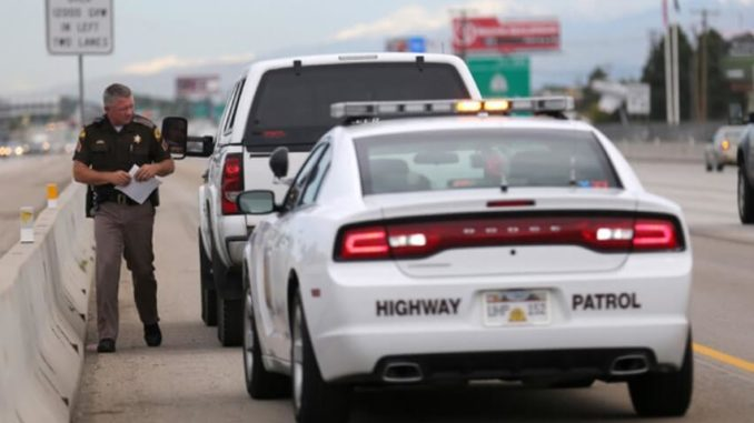Pulled-Over-By-Police-On-the-Freeway