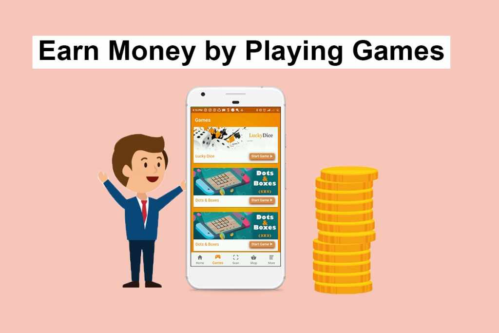 money playing games