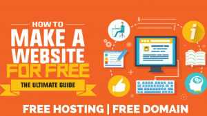 How to create a free website