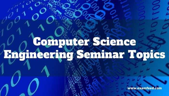 Seminar Topic For Computer Science
